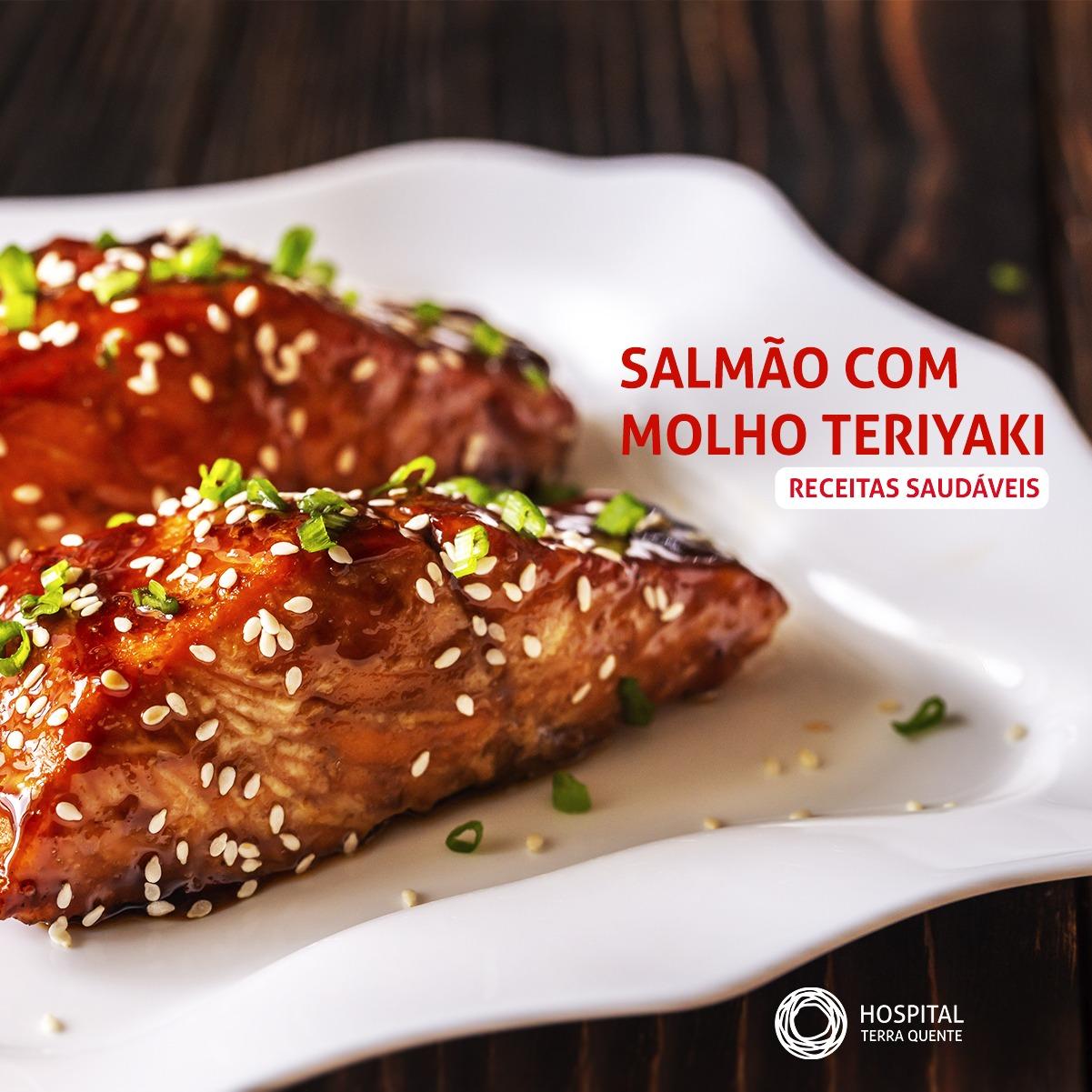SALMÃO COM MOLHO TERIYAKI